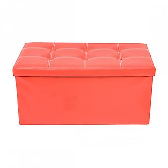 Rebecca Furniture Puff stool red trunk Design Modern furniture living room House
