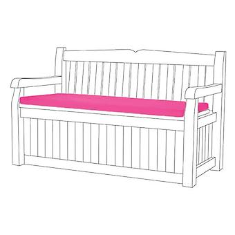 Pink Water Resistant Bench Pad Cushion for Iceni & Eden Storage Bench