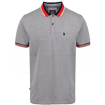 Luke 1977 Percyville Striped Collar Polo Shirt