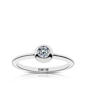 Ghostbusters Slime tid gravert diamant ring