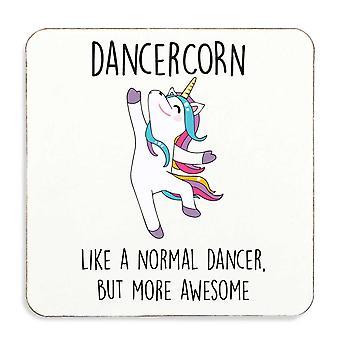 Dancercorn Dancer Coaster Cork Back