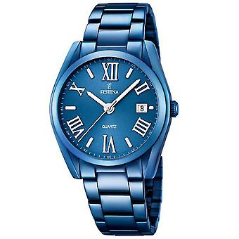 Festina Mademoiselle Quartz Analog Women's Watch with Stainless Steel Bracelet F16864/3