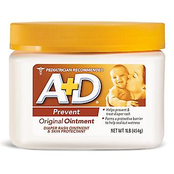 A+d original diaper rash ointment, 16 oz
