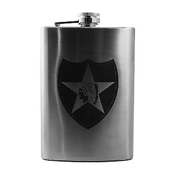8oz 2nd infantry flask l1