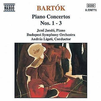 B. Bartok - Bart K: Piano Concertos nr 1-3 [CD] USA import