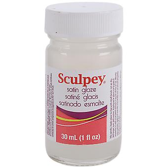 Sculpey Glaze 1 once Satin Asg33m