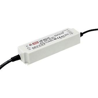 LED driver, LED transformer Constant voltage, Constant current Mean Well LPF-60D-12