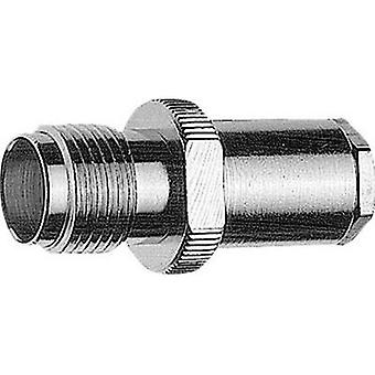 TNC connector Socket, straight 50 Ω Telegärtner J01011A0014 1 pc(s)