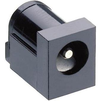 Low power connector Switch contact type: Normally-closed Socket, horizontal mount 6 mm 1.95 mm Lumberg NEB 21 R 1 pc(s)