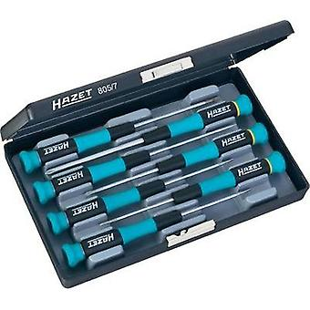 Electrical & precision engineering Screwdriver set 7-piece Hazet Slot, Phillips