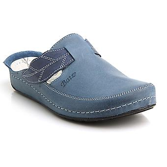 Batz NLK High Quality Leather Womens Ladies Slip-on Clogs