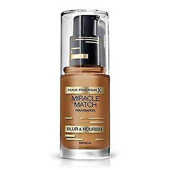 Max Factor Max Factor Maquillaje Base Miracle Match 90 Toffee