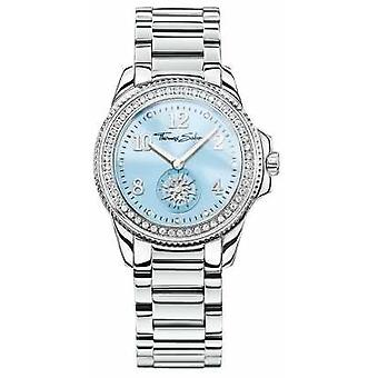 Thomas Sabo Womans Glam Chic Stainless Steel Blue Dial WA0254-201-209-33 Watch