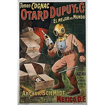 Cognac Otard Dupuy and Co Poster Print by Unknown
