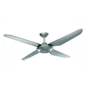 Ceiling fan Airfusion Sensation Silver with wall control 132 cm / 52""