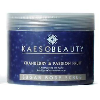 Kaeso Cranberry Body Scrub & Passion Fruit Sugar Body Scrub 450 ml