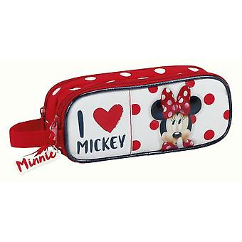 Safta Portatodo Doble Minnie Mouse (Toys , School Zone , Pencil Case)