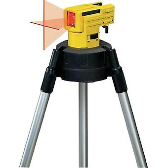Cross line laser Incl. tripod Stabila LAX 50 Max. range: 10 m Calibrated to: Manufacturer standards
