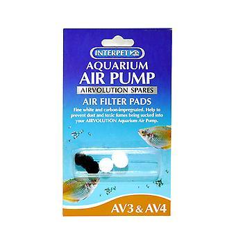 Aquarium Air Volution Spare Filter Pads For Av3&4 (Pack of 5)