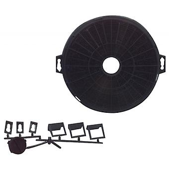 Fixapart activated carbon filters for cooker hoods Ø 210 mm universal