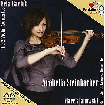 B. Bartok - Bart K: The 2 Violin Concertos [SACD] USA import