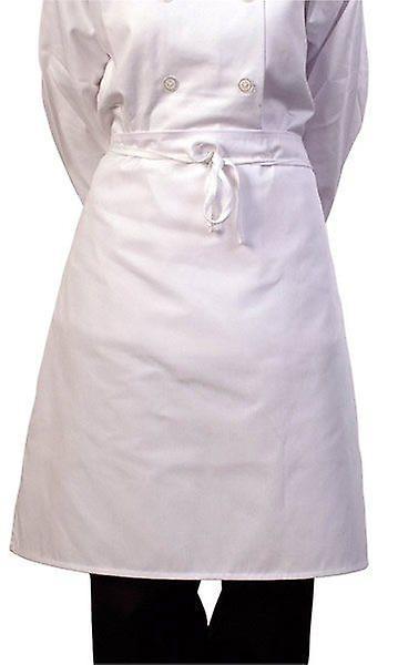 Zodiac White Chefs Waist Apron