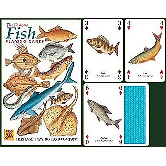 Fish set of 52 playing cards (+ jokers)    (hpc)