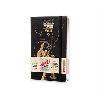 Moleskine Alice's Adventures in Wonderland Notebook Large Plain Black (Hardcover) by Moleskine S.P.A.