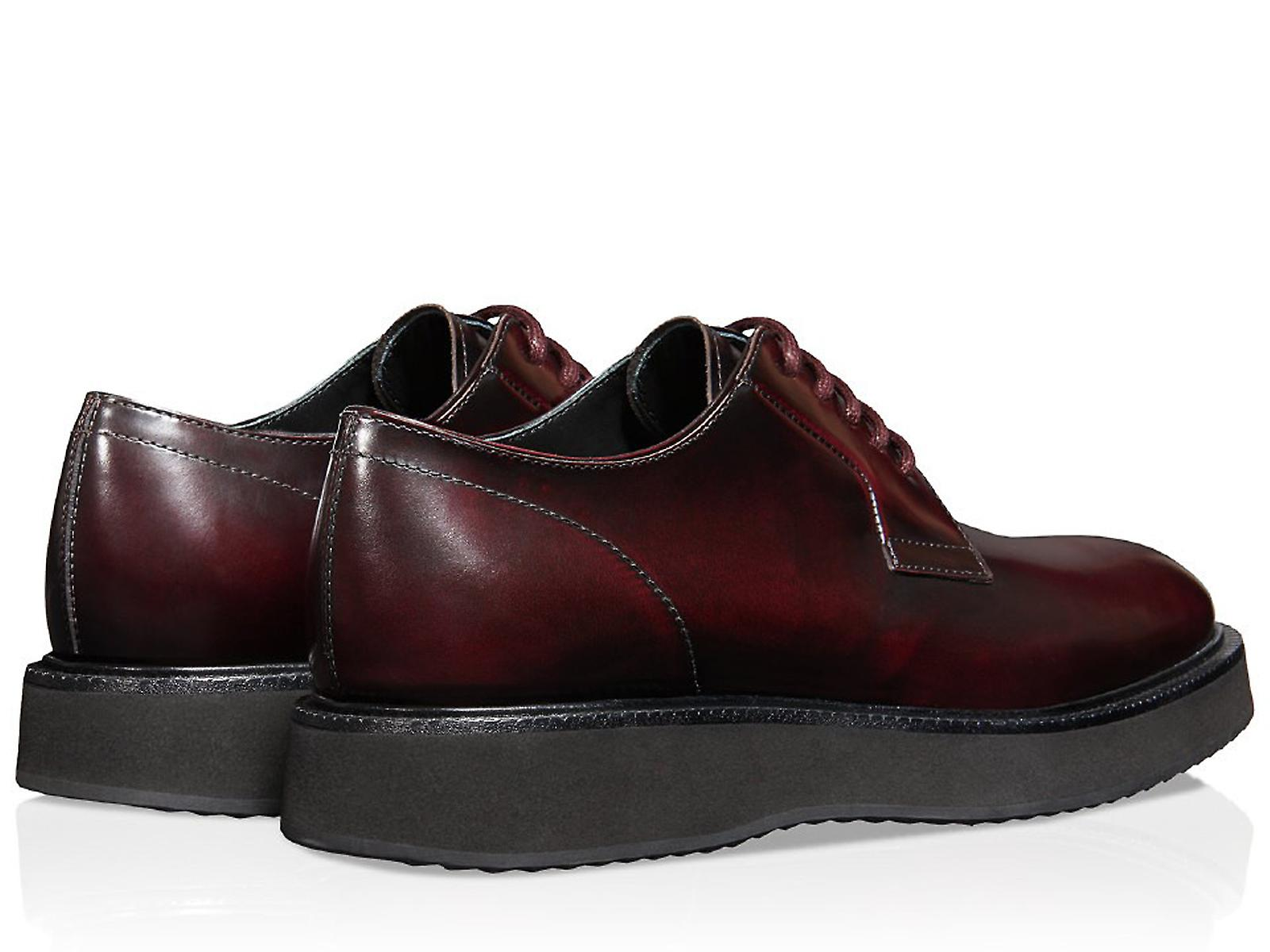 lace leather ups burgundy X Route in H271 Hogan xqP7Tw1P
