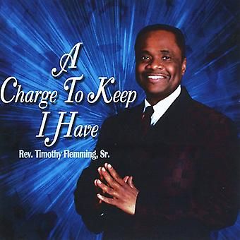 Rev. Timothy Fleming - Charge to Keep I Have [CD] USA import