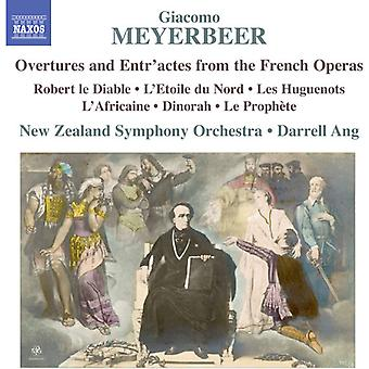 Meyerbeer - Ovtr & Entr'Actes [CD] USA import