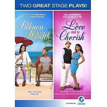 In Sickness & in Health/to Love & to Cherish [DVD] USA import