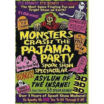Monster zum Absturz des Pyjama Teil [DVD] USA Imports