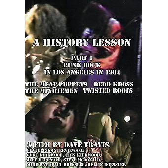 History Lesson Pt. 1: Punk Rock in Los Angeles in - History Lesson Pt. 1: Punk Rock in Los Angeles in [DVD] USA import
