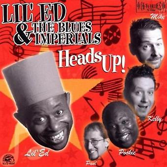 Lil' Ed & Blues Imperials - Heads Up! [CD] USA import