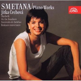 B. Smetana - Smetana: Piano Works - Macbeth, en la orilla del mar, importación USA recuerdos De Boheme [CD]