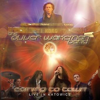 Oliver Wakeman bandet - kommer til byen [CD] USA import
