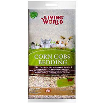 Living World L.W CORN COBS Strawberry 5 LT (Small pets , Bedding)