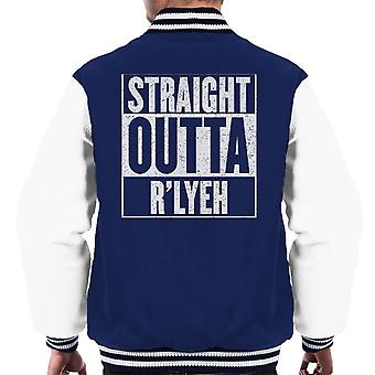 Straight Outta Rlyeh Call of Cthulhu Men's College-Jacke