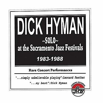 Dick Hyman - Solo på Sacramento Jazz festivaler 1983-1988 [CD] USA importerer