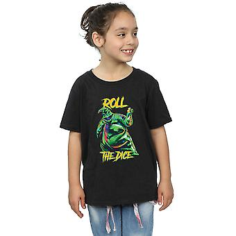Disney meisjes Nightmare Before Christmas Oogie Boogie dobbelstenen T-Shirt