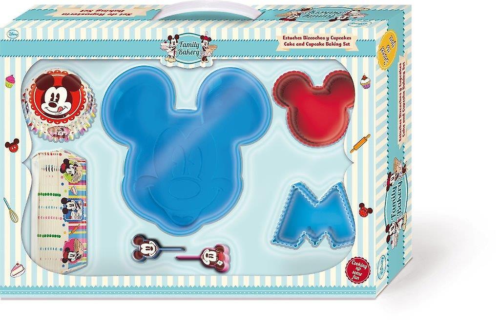 Kit Regalo Stampi Sagomati in Silicone  Mickey Mouse Disney Cake Design