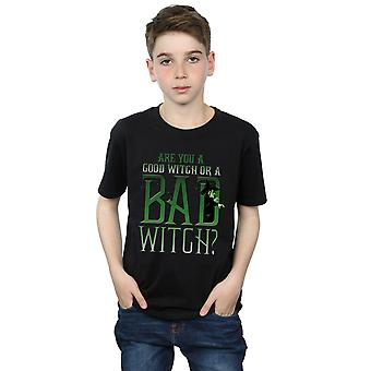 Wizard of Oz Boys Good Witch Bad Witch T-Shirt