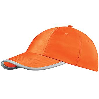 Beechfield Enhanced-viz / Hi Vis Baseball Cap / Headwear