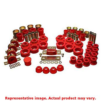 Energy Suspension Hyper-Flex System 3.18108R Red Fits:CHEVROLET 1981 - 1986 C10