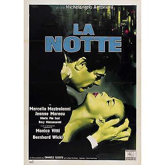 La Notte Movie Poster (11 x 17)