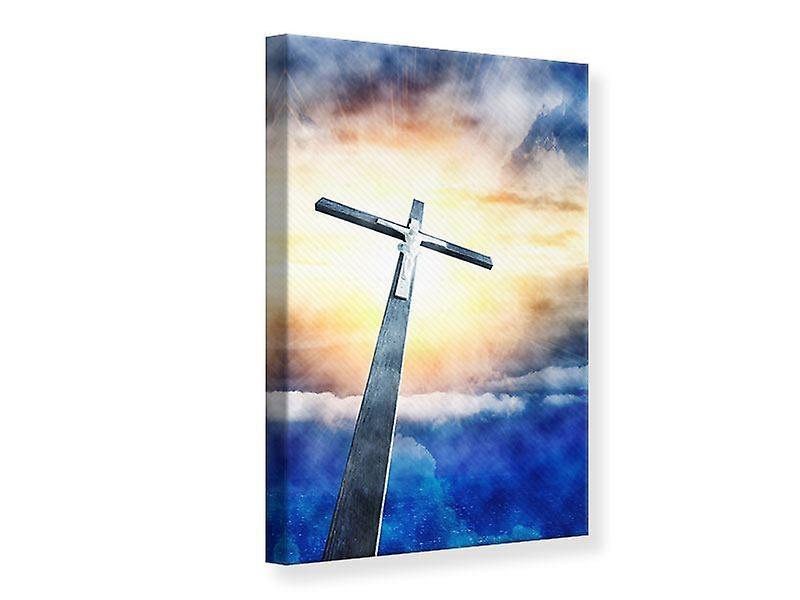 Impression de toile de Jésus sur la Croix
