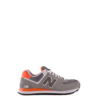 New balance men's MCBI221016O grey suede of sneakers