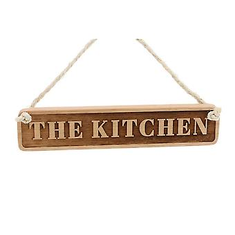 CGB Giftware Loft The Kitchen Wooden Sign