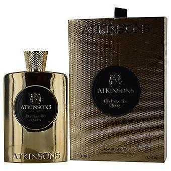 Atkinsons Oud Save The Queen By Atkinsons Eau De Parfum Spray 3.3 Oz
